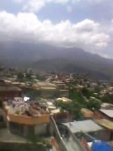 Vista de Guarenas, estado Miranda, RBdV desde el sectorel Nazareno II de las Clavellinas